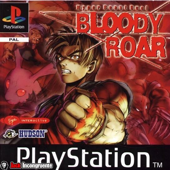 Bloody Roar 1 PSOne Jack incongruente