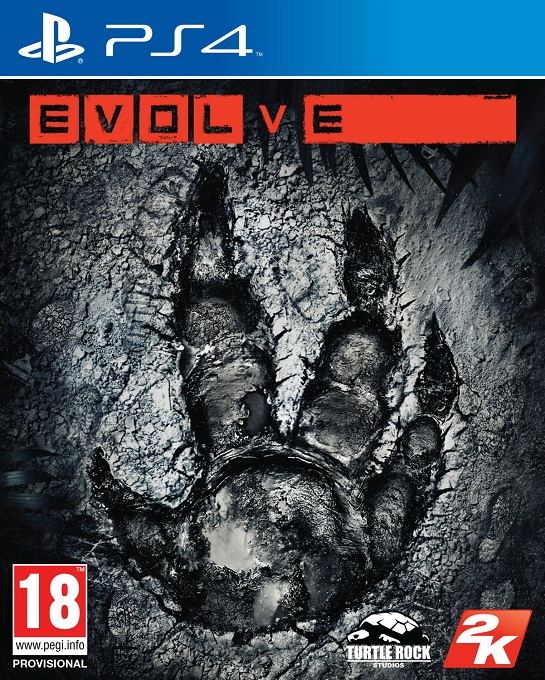 Evolve Video game PS4