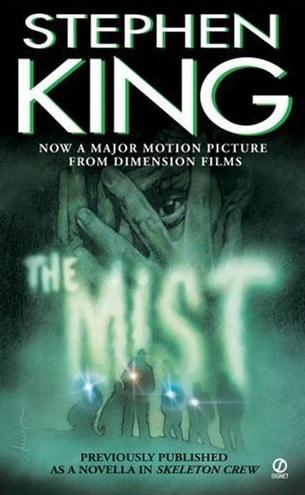 The Mist Stephen King 2007 Paperback First Signet Printing Skeleton Crew Novella