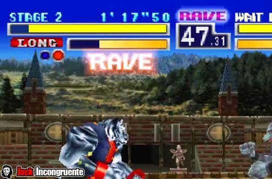 Bloody Roar 1 Rave Jack incongruente
