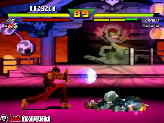 Street fighters Ex Jack incongruente