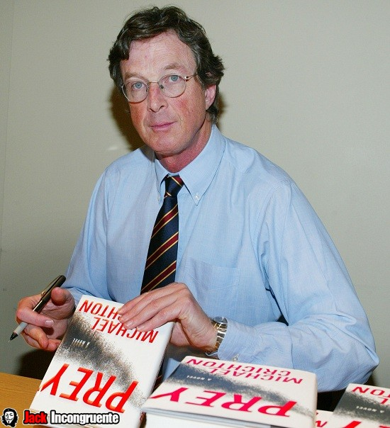 "Michael Crichton Reads From His New Book ""Prey"" to Benefit the Los Angeles Public Library Foundation"