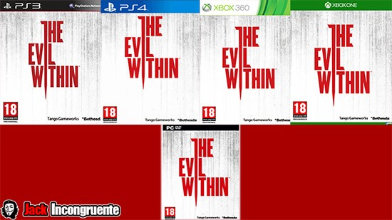 The Evil Within Game- Ps3 - Ps4- Xbox 360- Xbox One - PC