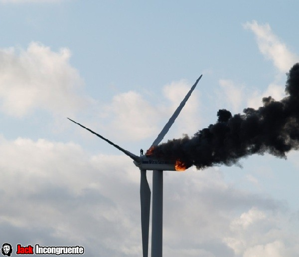 molino de viento Holanda el 29 de octubre de 2013
