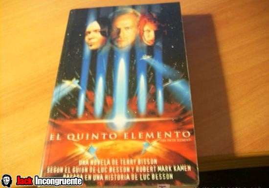 novel The Fifth Element