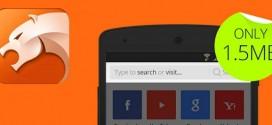 CM Browser-Fast aplicacion