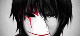 Darker Than Black shattered mask