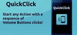 QuickClick Volume-Button-click