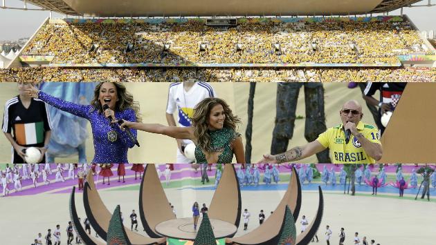 inauguración del mundial Brasil 2014