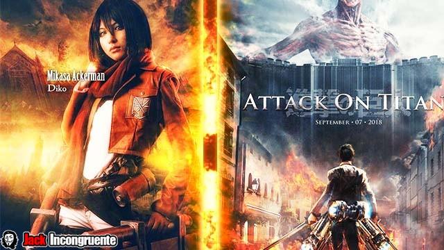 2 peliculas Ataque a los Titanes Shingeki no Kyojin