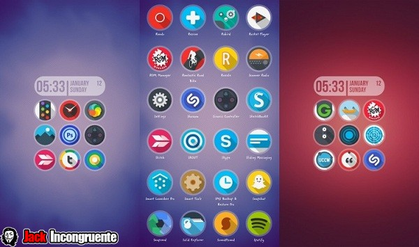 AroundLite icon Pack