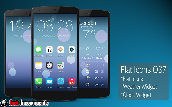 Flat Icons OS7 android