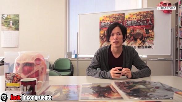 Hajime Isayama (Ataque a los titanes)