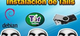 Instalacion de tails usb 2014