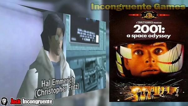 Metal gear 2001 Una odisea en el espacio