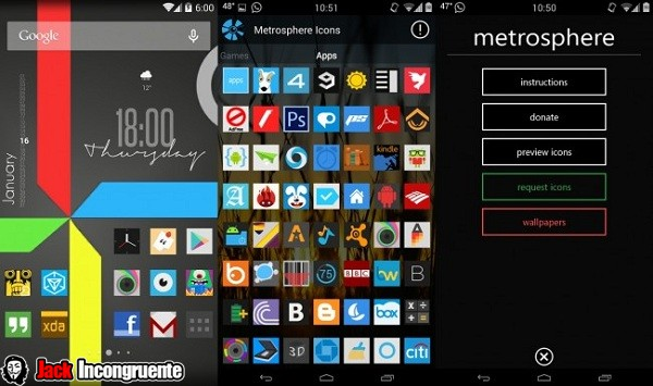 Metrosphere android