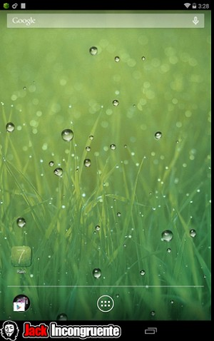 Rain Parallax Live Wallpaper android