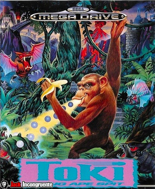Toki MegaDrive version