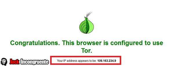 Tor ip test