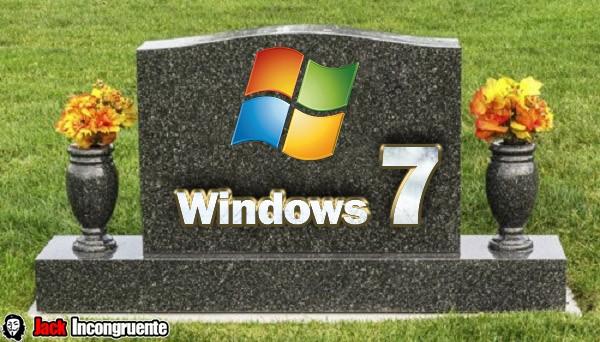 Windows 7 sin soporte tecnico