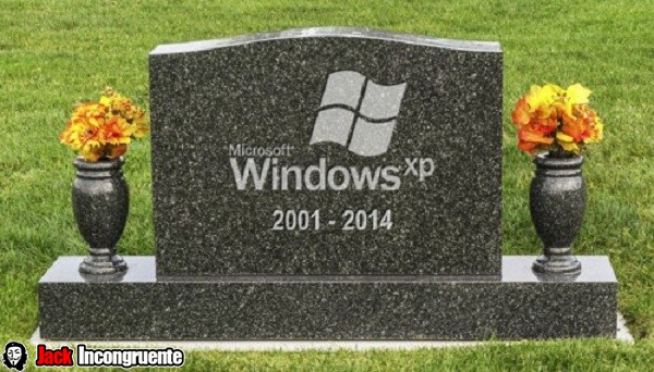 Windows XP has-ended-