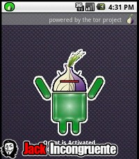 android-TOR activated