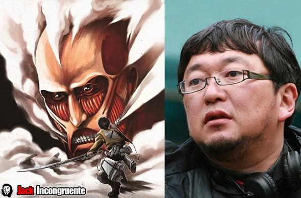 attack-on-titan Shinji Higuchi