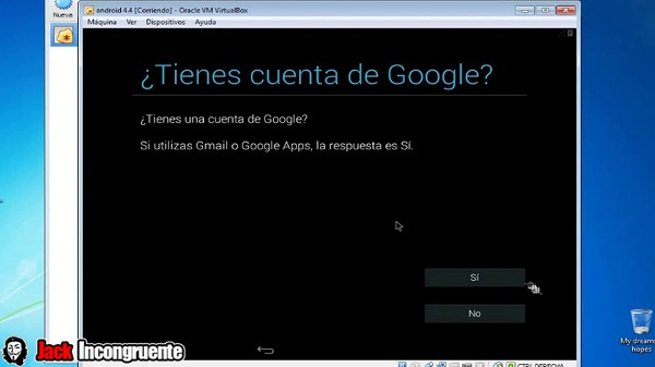 instalar android en virtualbox 25