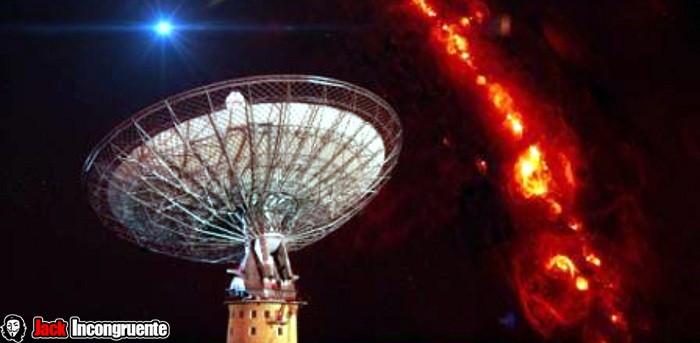 señales de radio observatorio