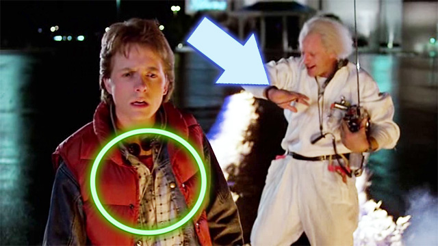 Back to the future 1985 Errores de grabacion