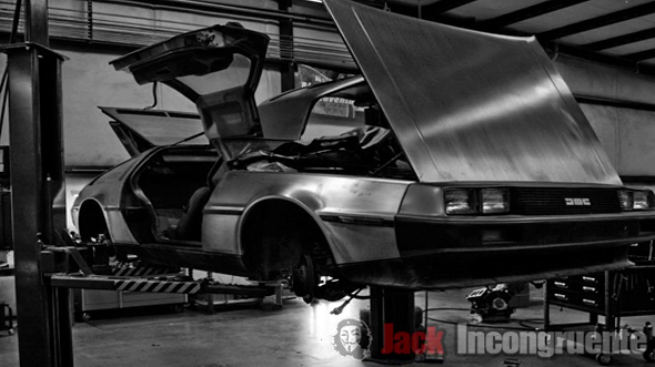 DeLoreans back to the future