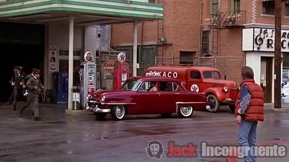Texaco miller back to the future