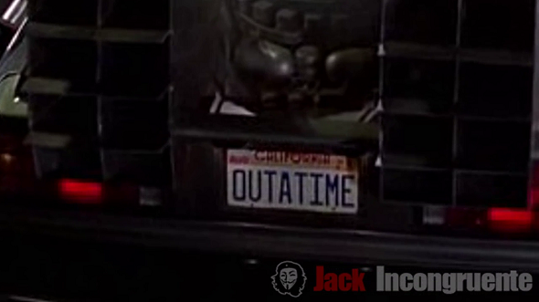delorean outtime