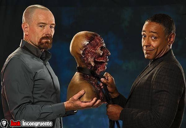 gus fring makeup the walking dead