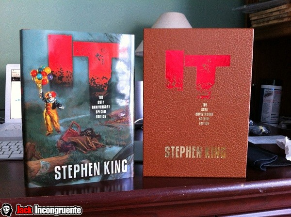 ESO EL PAYASO LIBRO STEPHEN KING