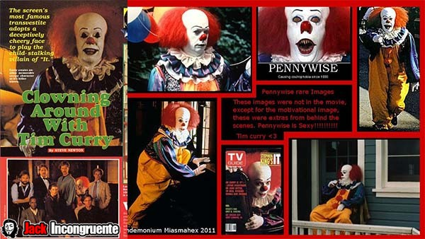 curiosities clown Pennywise