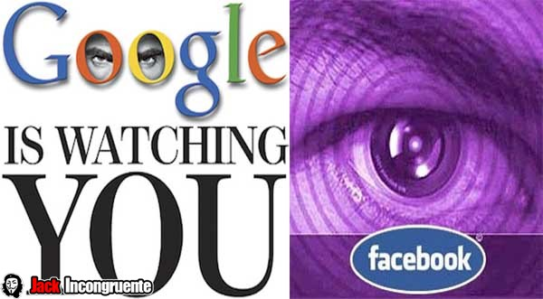 monitoring activities facebook and google