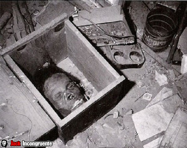 Ed Gein Skin Furniture The mask of human skin