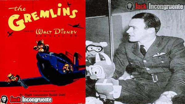 curiosidades gremlins Roald Dahl