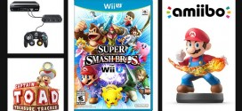 super smash bros and Amiigo Wii U