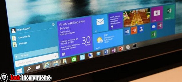 windows 10 menu 2014