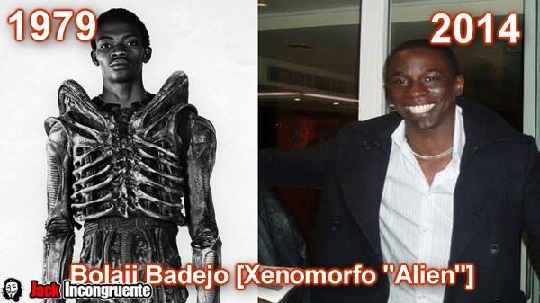 Bolaji Badejo as the alien main antagonist