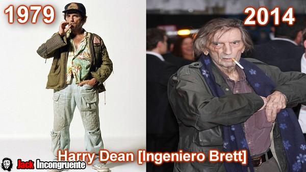 Harry Dean Stanton como Brett ingeniero técnico