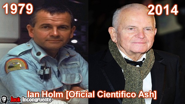 Ian Holm as science officer Ash