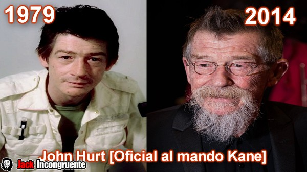 John Hurt as Kane commanding officer