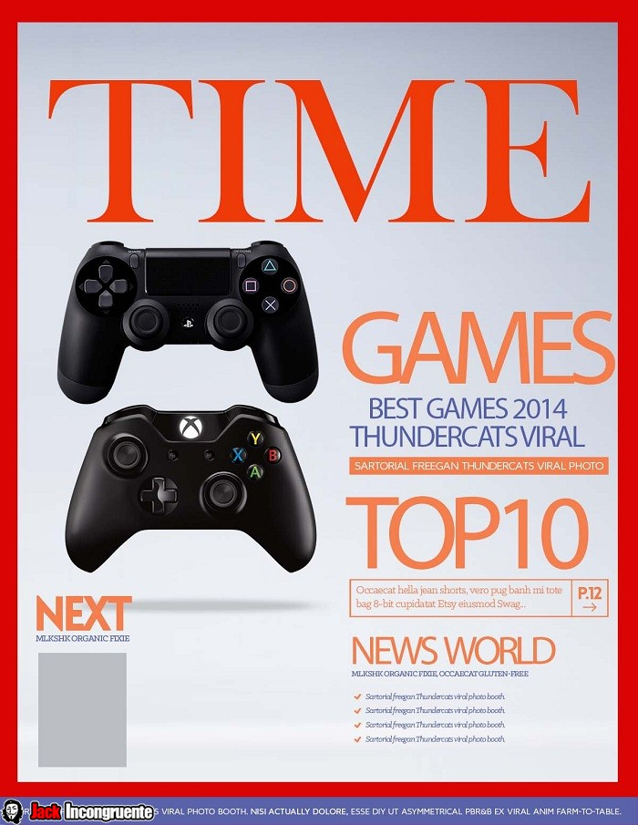 TIME Magazine 10 Video Games of 2014