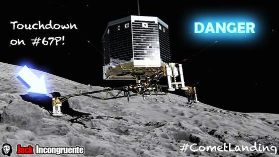 Problems robot-philae-cometa 67