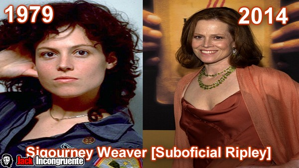 Sigourney Weaver as Warrant Officer Ripley