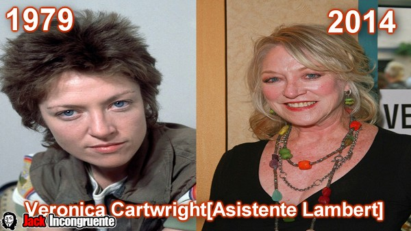 Veronica Cartwright come assistente generale Nostromo di Lambert