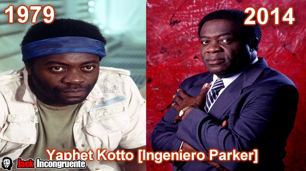 Yaphet Kotto come Parker Chief Engineer